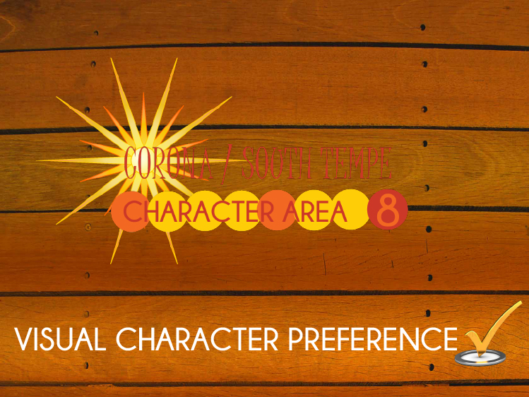 CA8 Visual Character Survey
