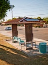 Solar-powered Bus Shelter