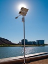 Solar-powered Streetlight