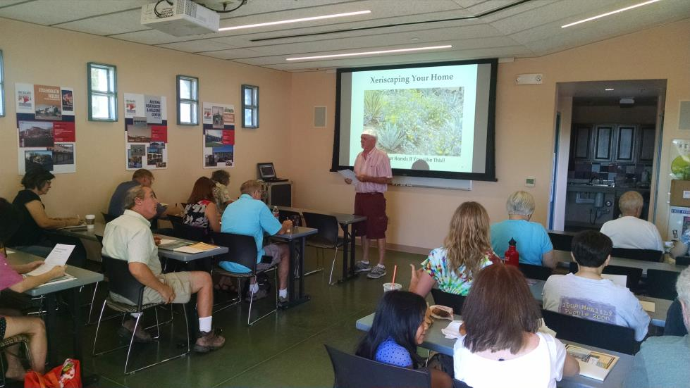 xeriscape workshop people 2 oct 2014