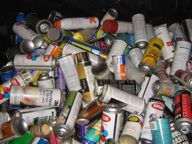 Aerosol Cans at the HPCC
