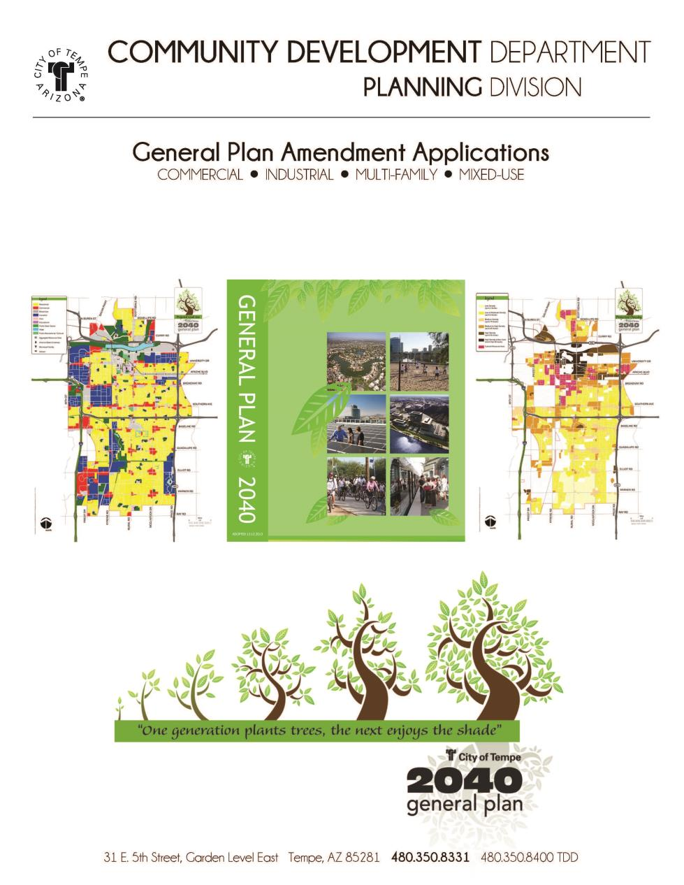 General Plan Amendment Cover