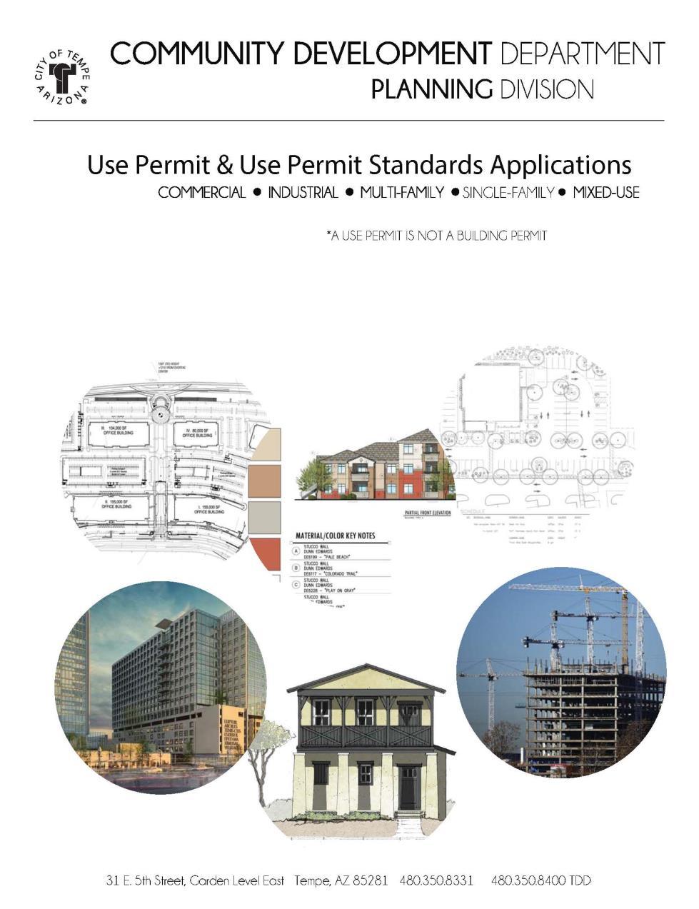 City Of Tempe Az Applications Forms Amp Permits