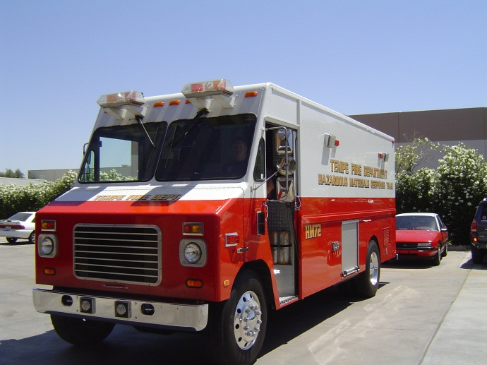 Hazardous Materials Support Vehicle 272 responds from  Station 2