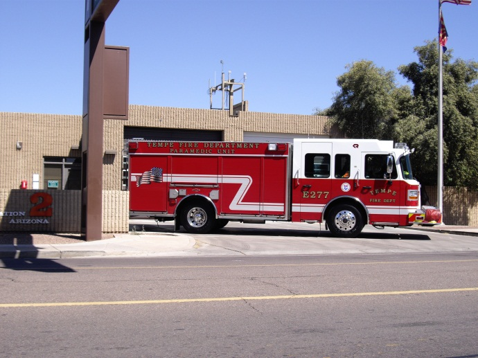 Engine 277 responds from Station 2
