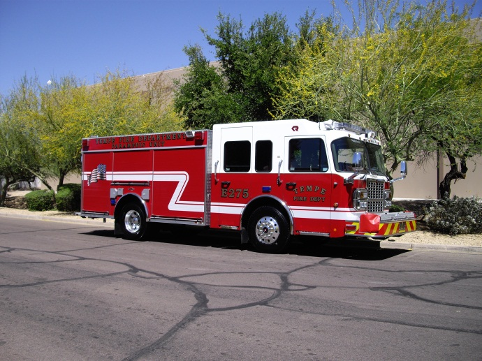 Engine 275 responds from  Station 5