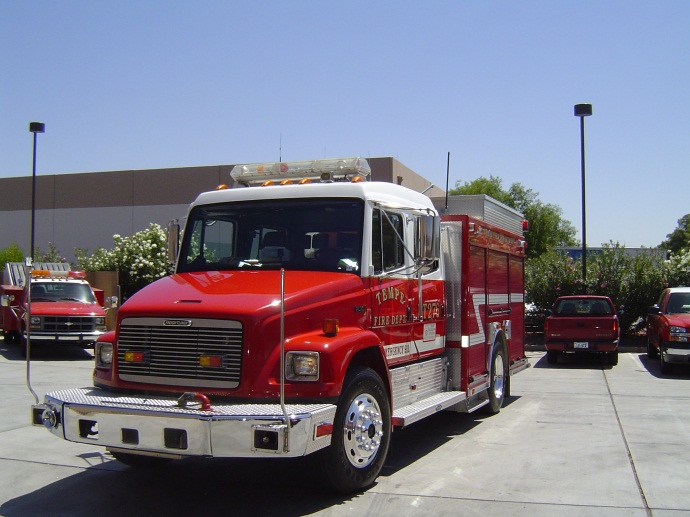 Support vehicle 276 responds from  Station 6
