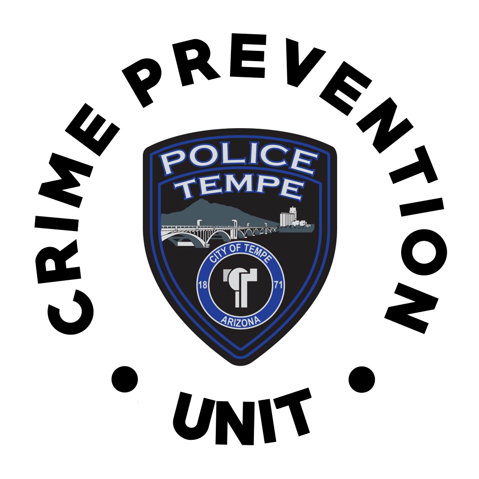 crime prevention patch white background