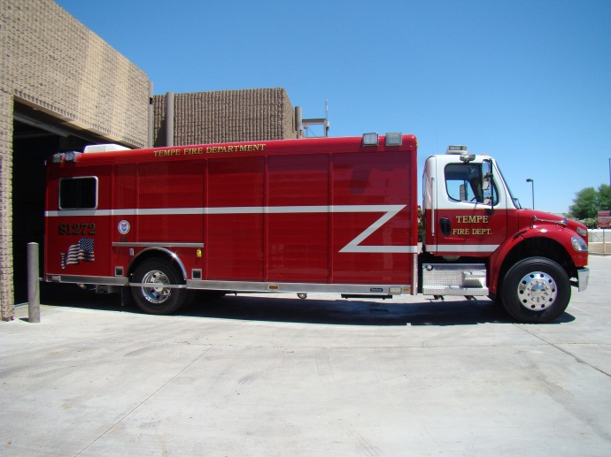 Special Incident Vehicle 272 responds from  Station 2