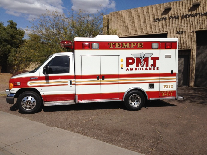 Medic 272 responds from  Station 2