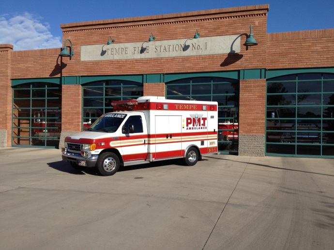 Medic 271 responds from  Station 1