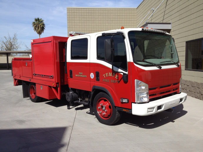 Fire Maintenance Truck