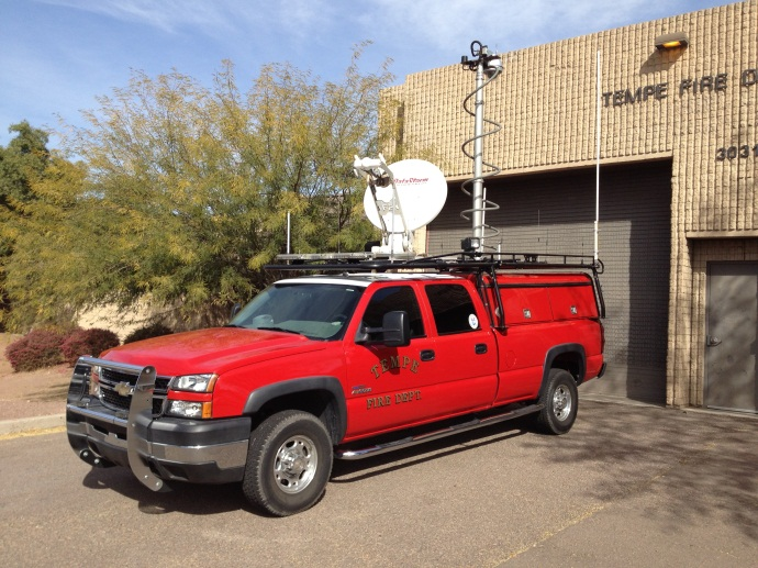 Communications truck