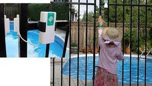 Pool gate alarm