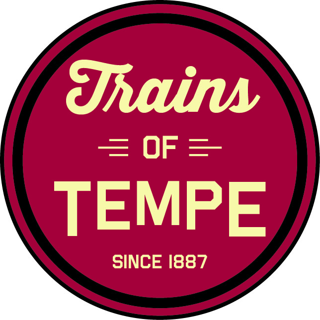 Trains logo3A