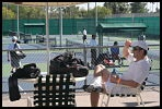 Tennis Player Relaxing