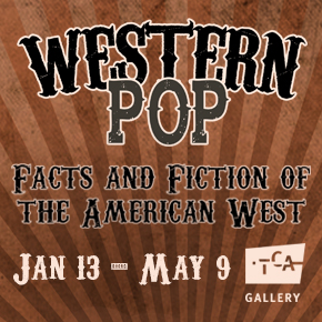 Western POP Exhibition _Rotating Ad