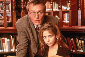 Buffy the Vampire Slayer and Giles
