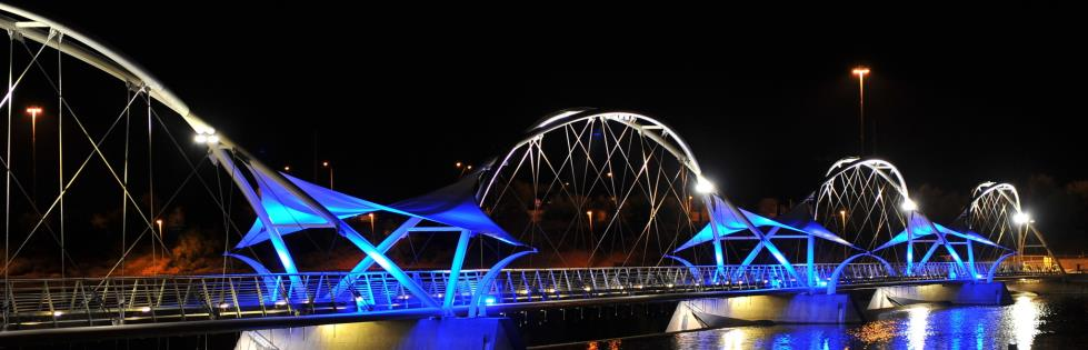 whole blue bridge