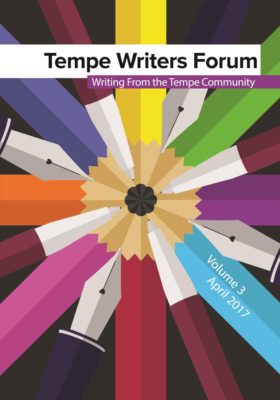 2017 Tempe Writers Forum V.3 Cover