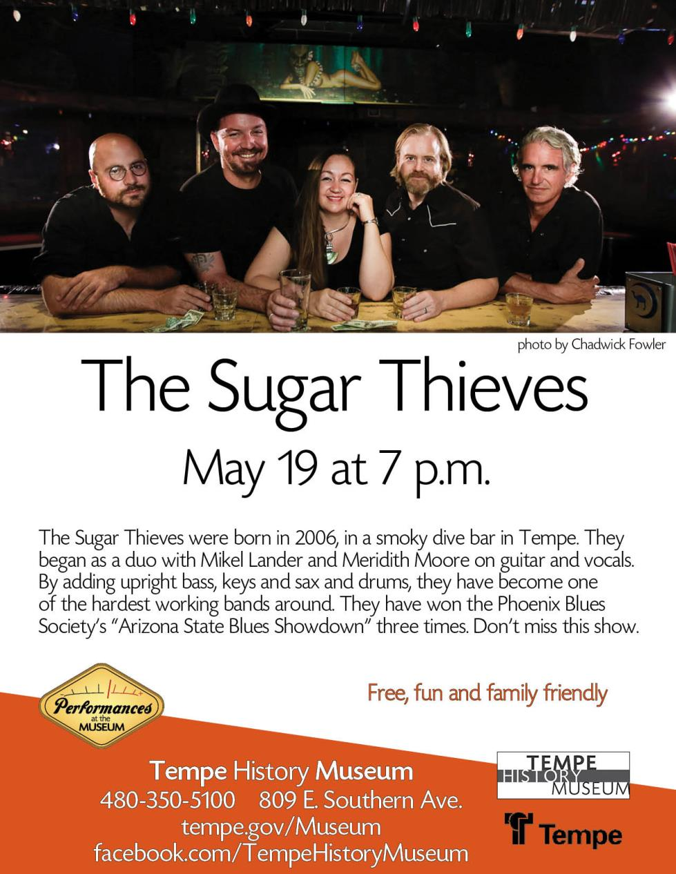 sugar thieves 2017 flyer