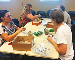Image: Seed Packing Party