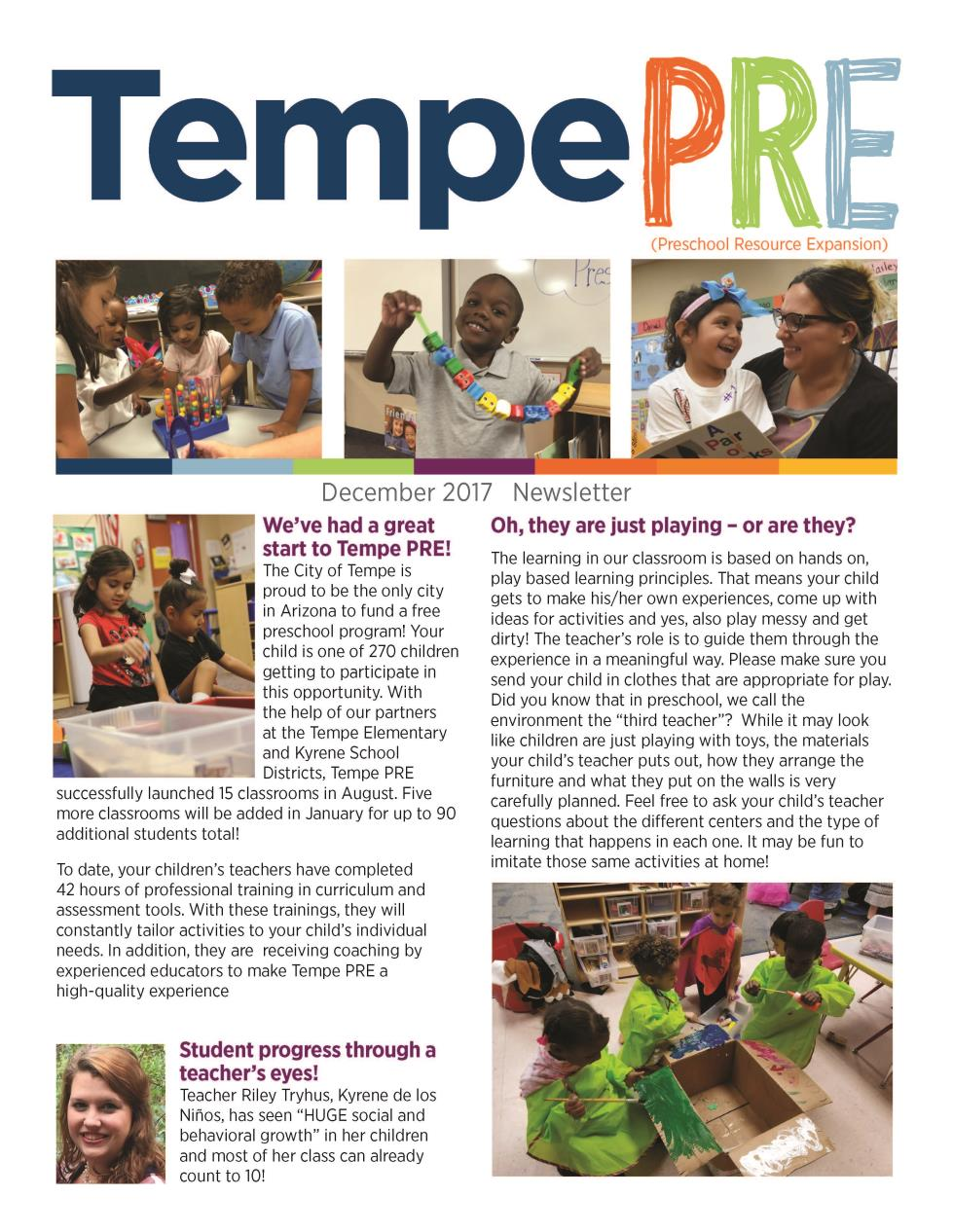 TempePRE Newsletter Dec