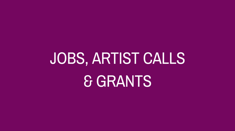Arts Jobs & Opportunities
