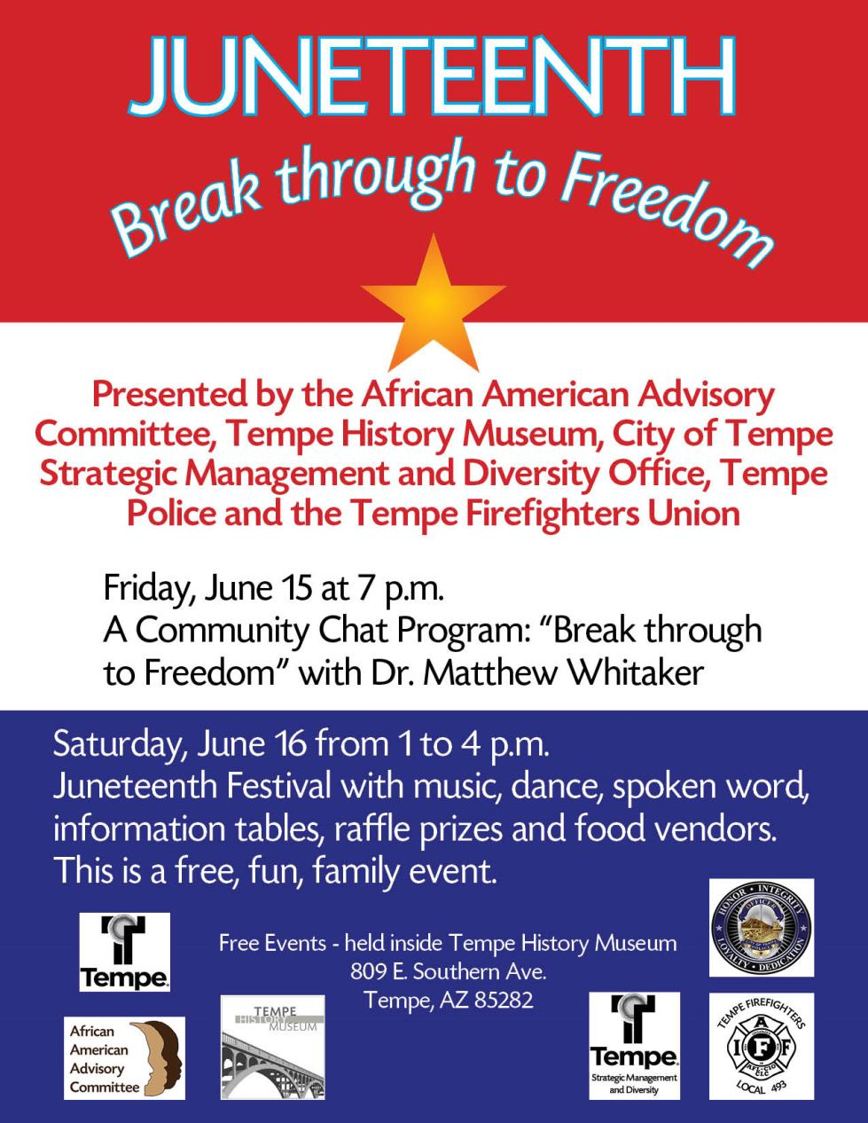 Juneteenth flyer 2018