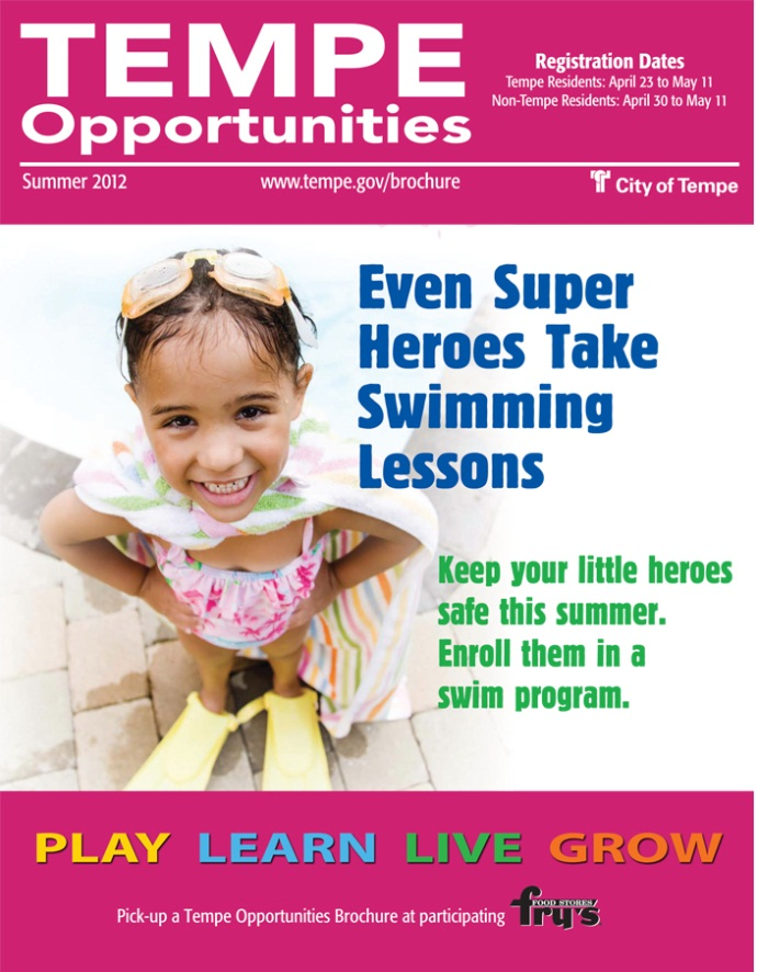 Tempe Opportunities Brochure: Summer 2012