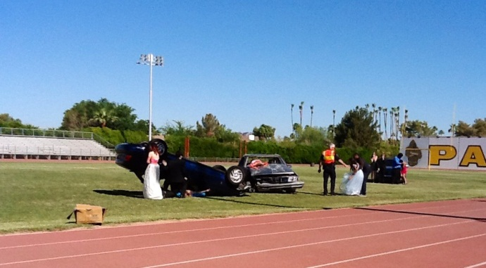 Marcos De Niza Mock DUI Assembly