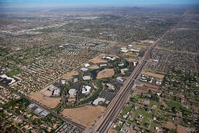 ASU Research Park aerial