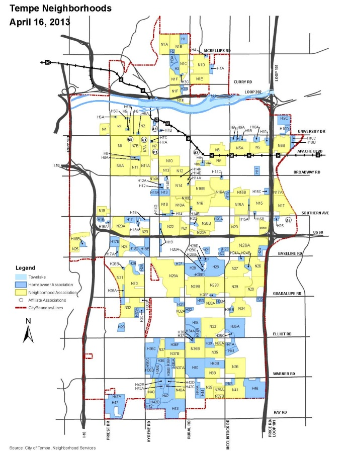 Neighborhood Map 2012
