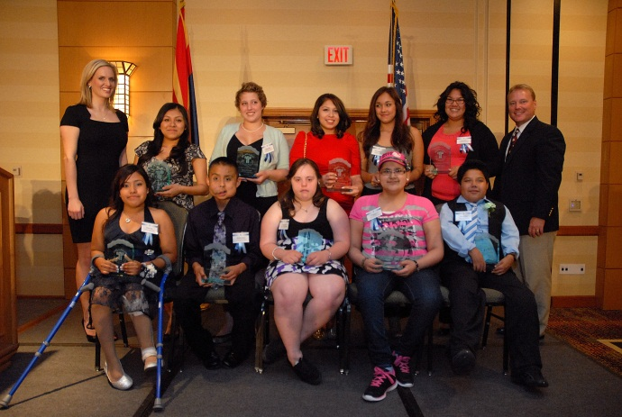 Picture of 2103 Courage Awards Recipients