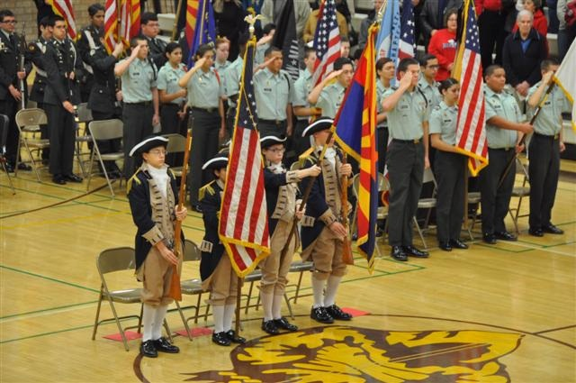 Tempe Union JROTC Co-Hosts Celebration of Colors