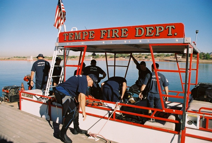 Fire Boat Dive Team