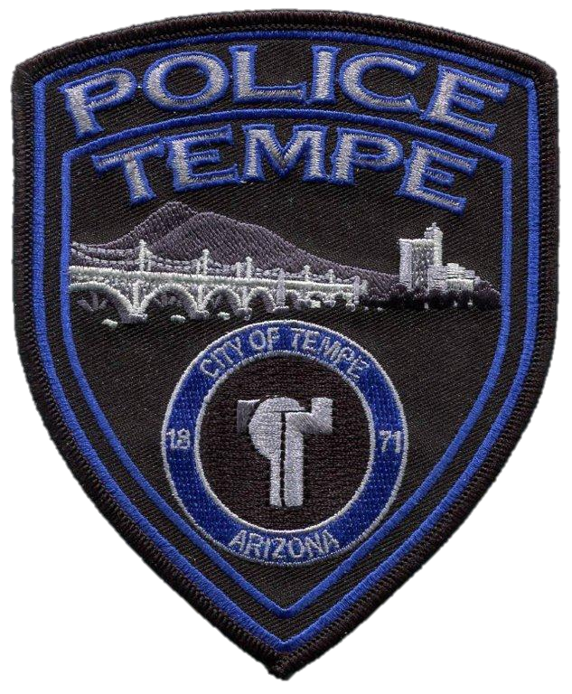 Picture of Tempe PD police patch