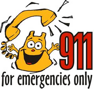 911 for emergencies only image