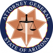 Attorney General Checks and Fraud logo