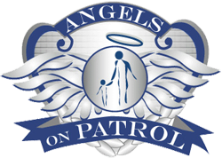 Angel wings logo for Angels on Patrol