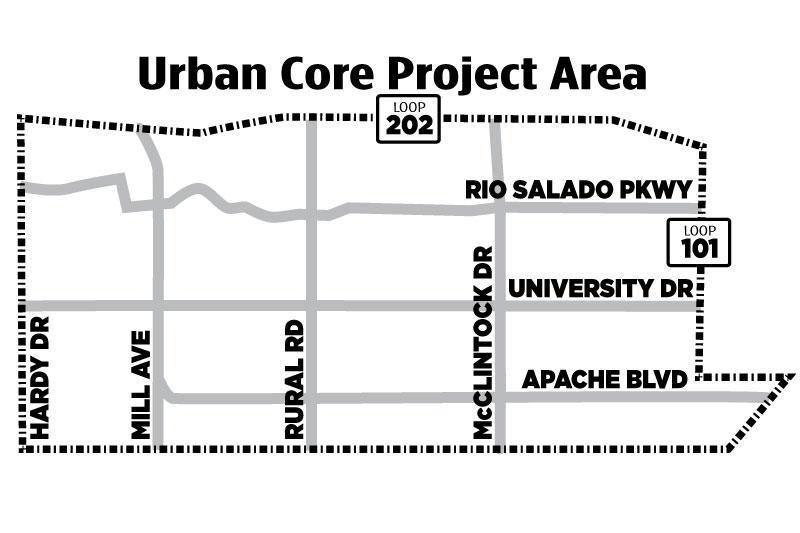 Urban Core Master Plan | City of Tempe, AZ