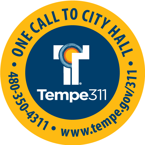 Tempe 311. One call to city hall.