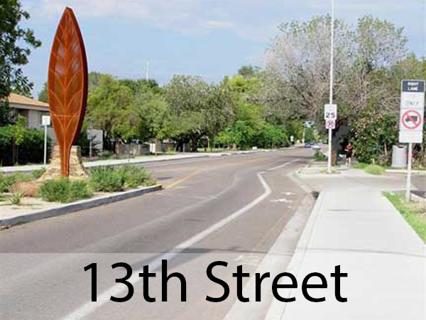 13th Street Streetscape