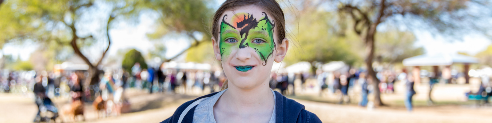 Arts in the Parks Face Painting