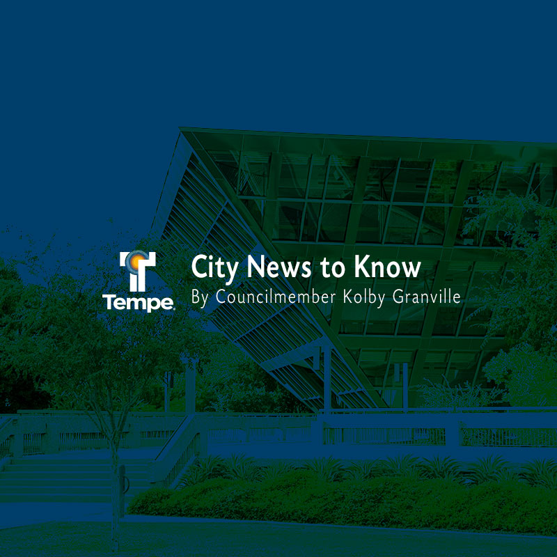 City News to Know by Councilmember Kolby Granville