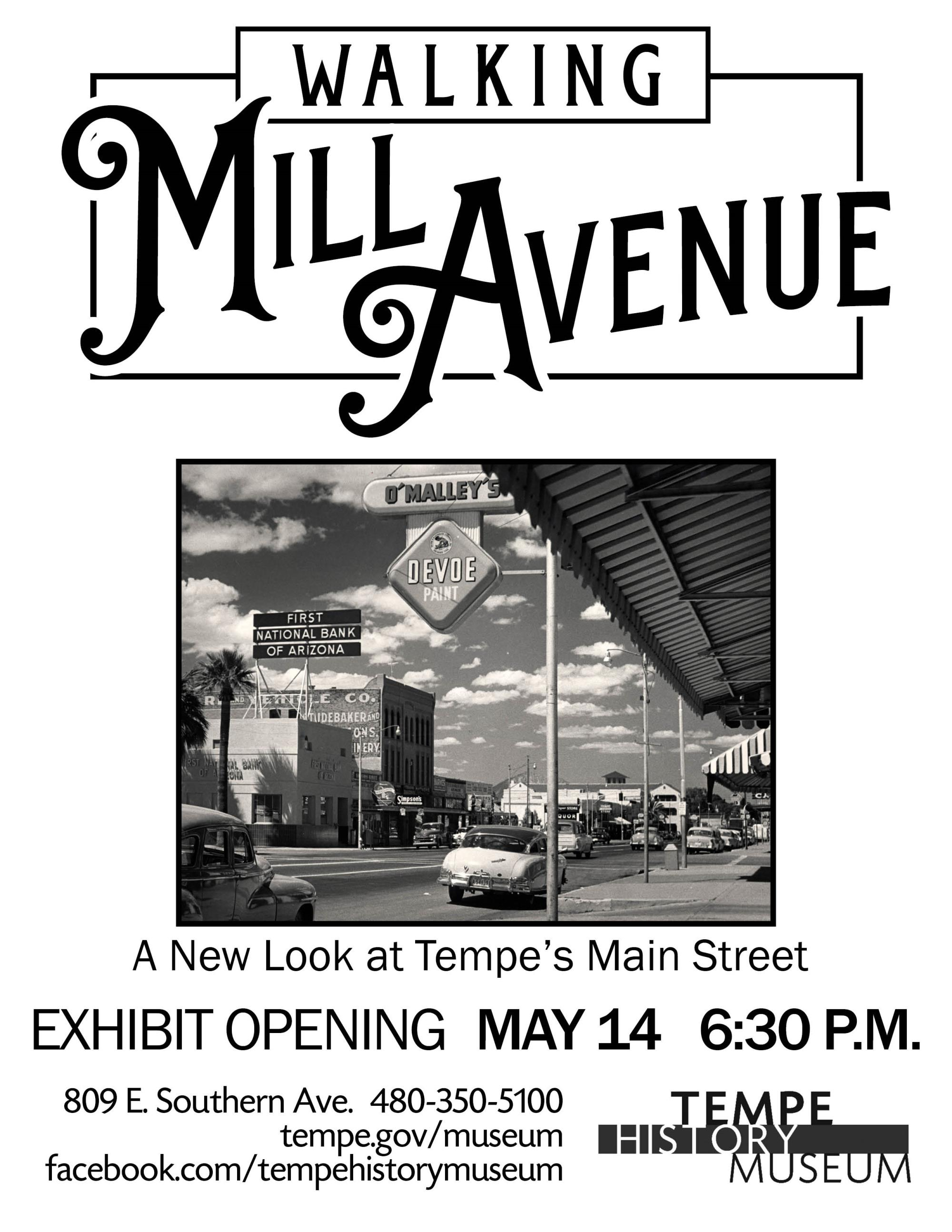 WMillAve Opening flyer