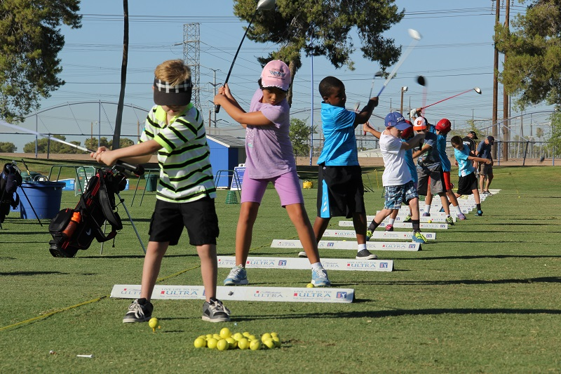 Free golf lessons at Tempe's inaugural Drive, Pitch & Putt Golf Challenge