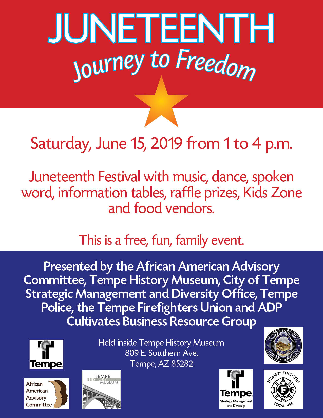 Juneteenth flyer 2019