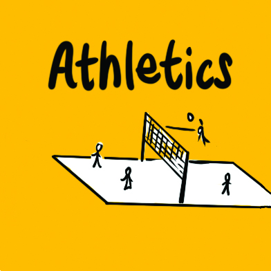 Sticker-Athletics