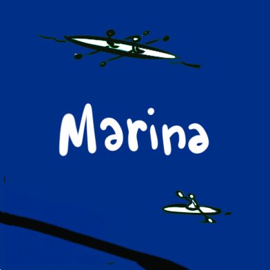 Sticker-Marina